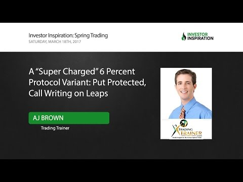 """A """"Super Charged"""" 6 Percent Protocol Variant: Put Protected, Call Writing on Leaps 