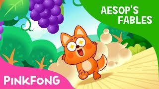 Video The Fox and the Grapes | Aesop's Fables | Pinkfong Story Time for Children download MP3, 3GP, MP4, WEBM, AVI, FLV Maret 2018