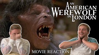 An American Werewolf In London (1981) MOVIE REACTION! | FIRST TIME WATCHING!!