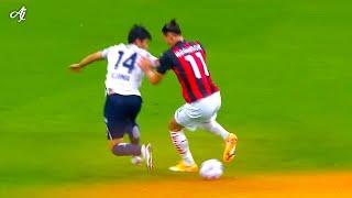39 Years Old Zlatan Ibrahimovic is Teaching Football in Italy