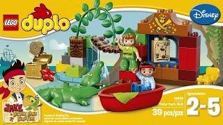 Лего Дупло Джейк и Пираты Нетландии. Питер Пен в гостях у Джейка