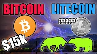 NEW BITCOIN PATTERN TO $15k - LITECOIN PRICE UPDATE - LTC NOW ON FLEXA SPEDN