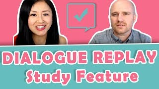 NEW Yoyo Chinese DIALOGUE REPLAY Study Feature | Learn Mandarin with Yoyo Chinese