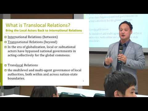 Dr. Taedong Lee's Guest Lecture at Hong Kong Baptist University (03.11.2017)