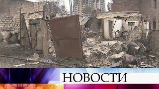 ВРостове-на-Дону наместе сильного пожара спасатели обнаружили тело погибшего.