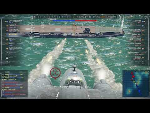 Imperial Japanese Navy vs HVAR - War Thunder