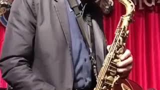 Kenny Garrett shedding on Alto sax