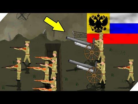 РУССКИЕ В ОКОПАХ - Игра Trenches Of Europe 2 на андроид, на телефон
