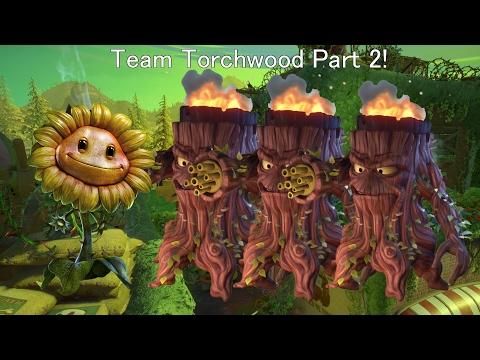 Plants vs Zombies GW2 Team Torchwood (The revenge of the batz)