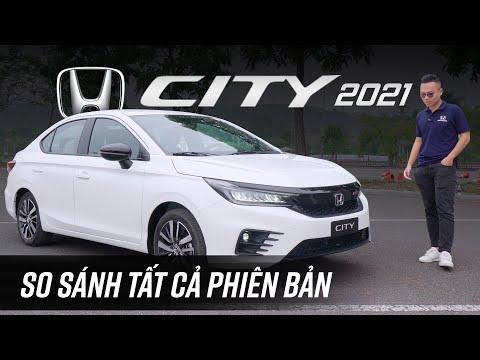Rẻ hơn 70 triệu, Honda City 2021 bản thấp bị cắt những gì?