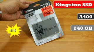 Kingston SSD 240 GB | A400 | Review & Performance Test