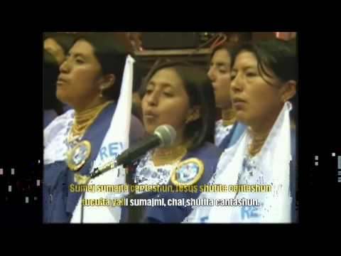 Pista karaoke , Sumaj Sumajta Cantashun - Coro J.E.B.P de Santiago de Quito 2016.