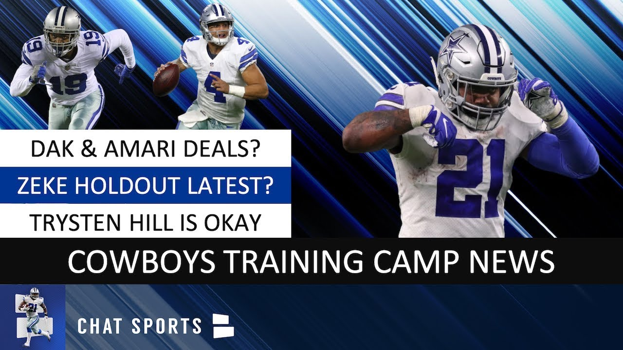 Here's the latest on the contract talks between Ezekiel Elliott and the Cowboys