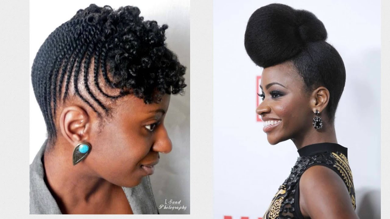 20 Easy And Awesome Updos For Black Women