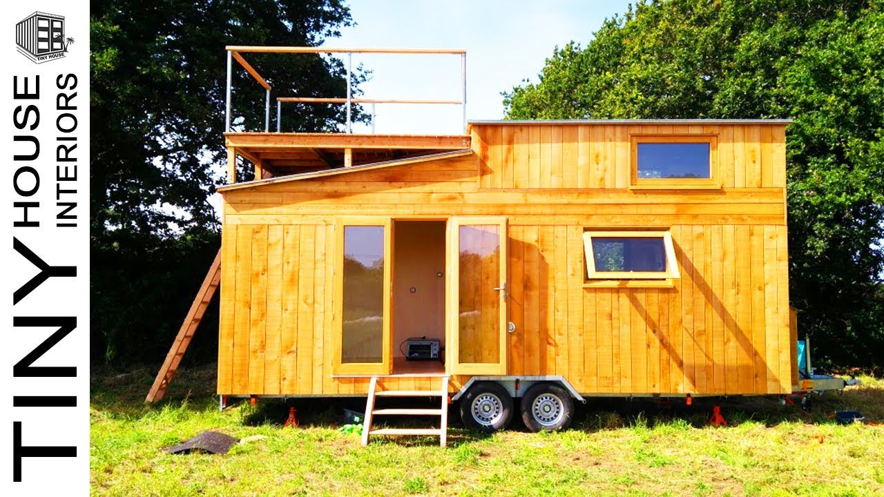 The Panoramic Tiny House With Rooftop Deck By Ty Rodou