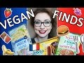 Vegan French Supermarket Finds - How to be vegan in France #1