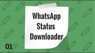 Whatsapp Status Downloader Using Android Studio Tutorial