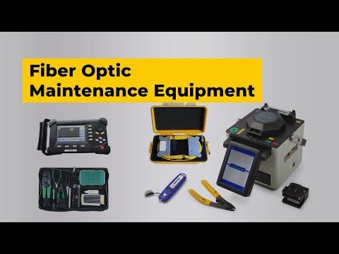 Fiber Optic Network Maintenance Equipment