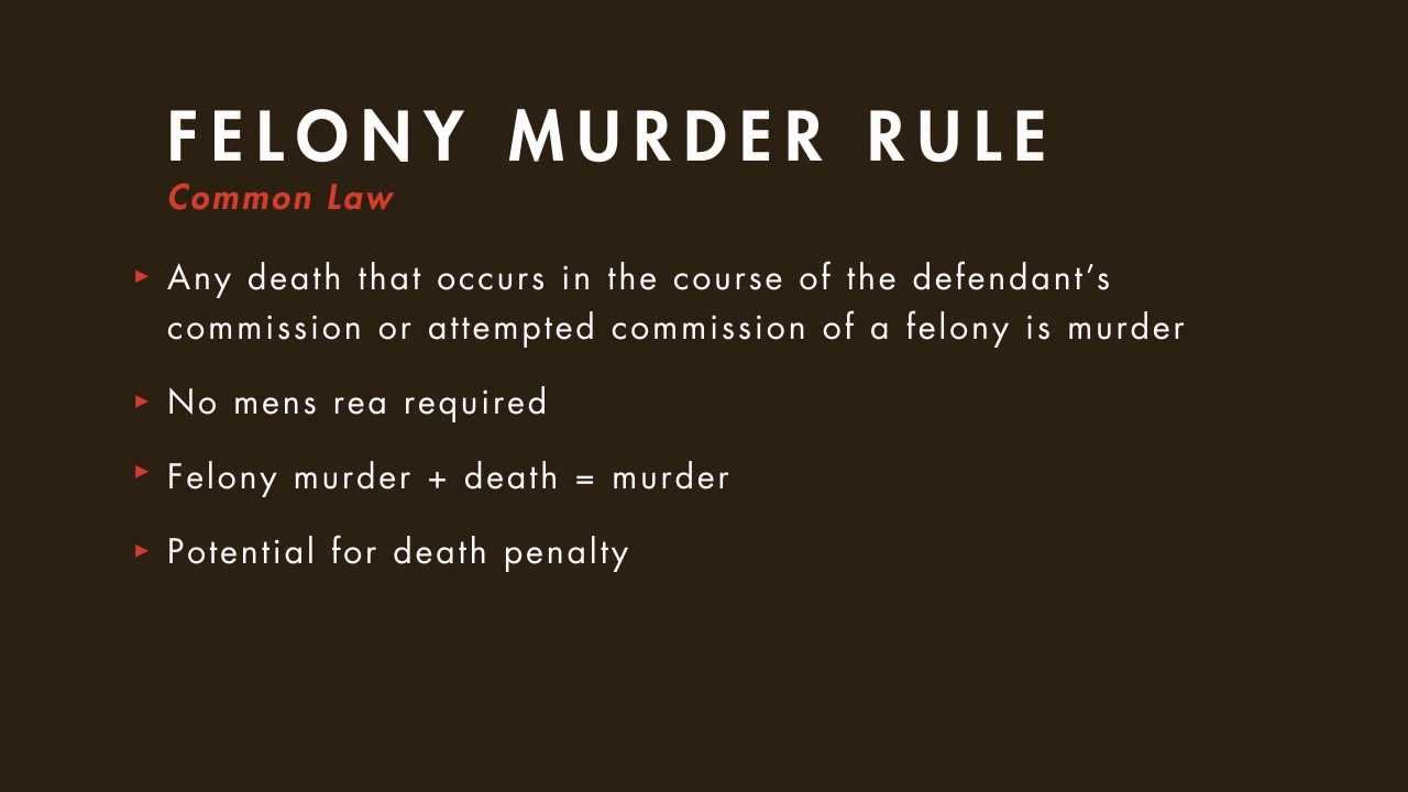 Wonderful Criminal Law Tutorial: Felony Murder   Part 1 | Quimbee.com