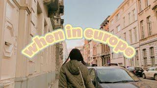 time well spent (europe vlog #1) thumbnail