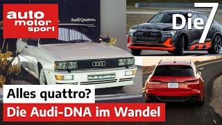 40 Jahre quattro: Audis Marken-DNA im Wandel   auto motor und sport