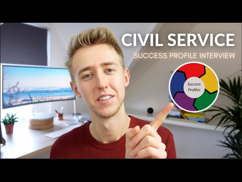Civil Service Success Profiles Interview (My Experience)