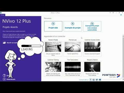 Tutoriel Nvivo - Introduction au tutoriel Nvivoиз YouTube · Длительность: 2 мин48 с