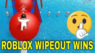 ROBLOX WIPEOUT THE HARDEST OBSTACLE COURSE - PART 2