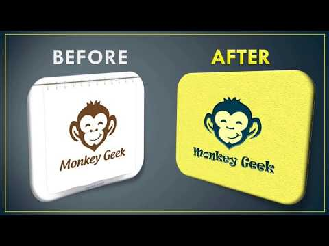 Photoshop Tutorial | How to Convert Raster Image to Vector Image in Photoshop thumbnail