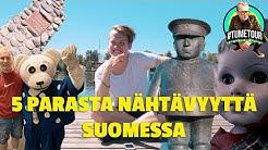 5 HASSUA SUOMEN NÄHTÄVYYTTÄ // Tumetour