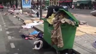 ГЛАВНИ УЛИЦИ В ПАРИЖ СЛЕД МИГРАНТИТЕ! / MAIN STREETS IN PARIS AFTER MIGRANTS - Facebook(Това видео не е мое! Кадрите и целия клип са взети от Facebook. Всички права са запазени за правопритежателите..., 2016-09-26T23:39:27.000Z)