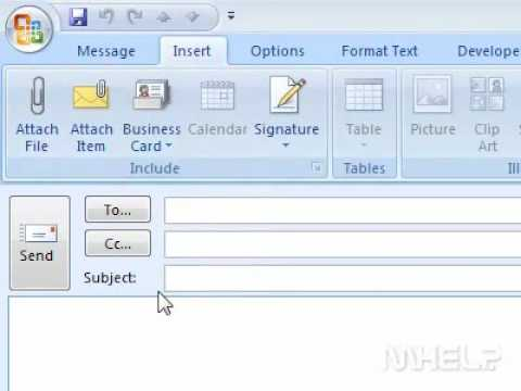 How to send a contact as a business card in outlook youtube how to send a contact as a business card in outlook reheart Image collections