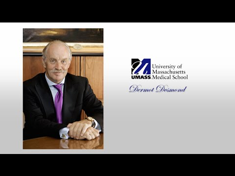 Honoring Dermot Desmond #UMassMed2016