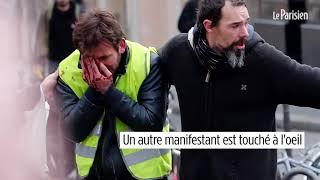 Gilets jaunes : des blessés par tirs de flash-ball, dont deux journalistes du Parisien