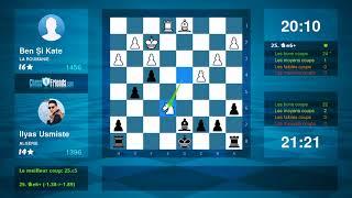 Chess Game Analysis: Ben Și Kate - Ilyas Usmiste : 0-1 (By ChessFriends.com)