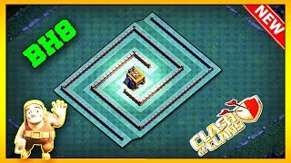 NEW Builder Hall 8 BASE LAYOUT 2019 | BH8 Best BASE IN COC | CLASH OF CLANS [Speed build]