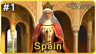Civ V Series - Spain #1