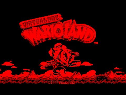 Virtual Boy Longplay [01] Virtual Boy Wario Land (3D)