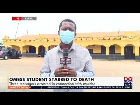 Omess Student Stabbed to Death: Three teenagers arrested in connection with murder  (8-9-21)