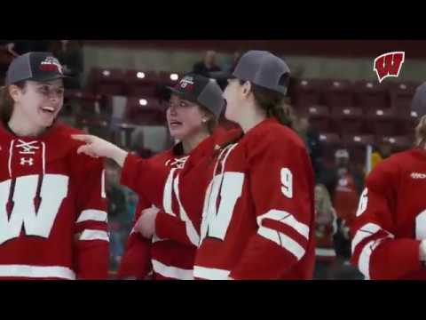 Wisconsin Sports - Wisconsin Hockey Wins WCHA Final Faceoff 3-1