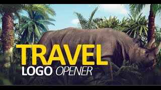 Adobe After Effects Template - Travel Logo Opener