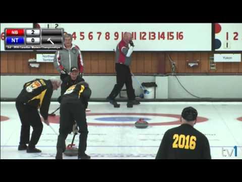 2016 Canadian Masters Championship: Draw #15 Men's: New Brunswick vs Northwest Territories