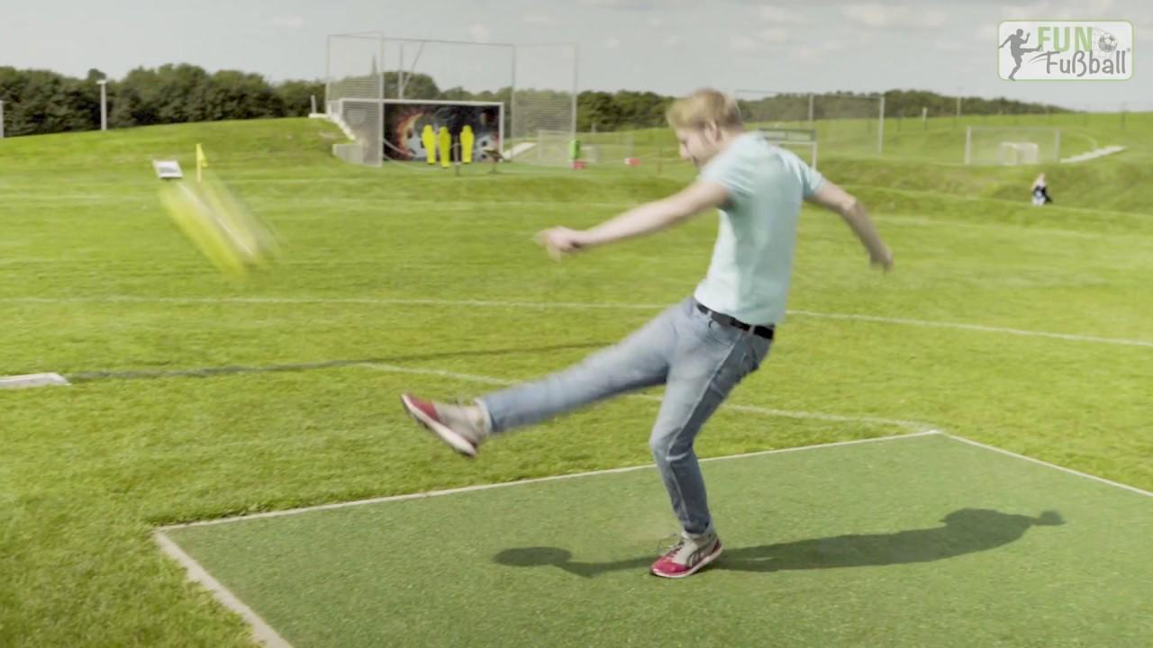 Funfussball Viel Spannender Als Fussballgolf