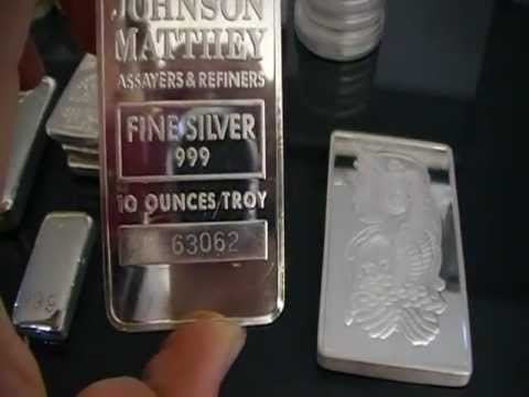 Silver Bullion Collection Bars And Coins Youtube