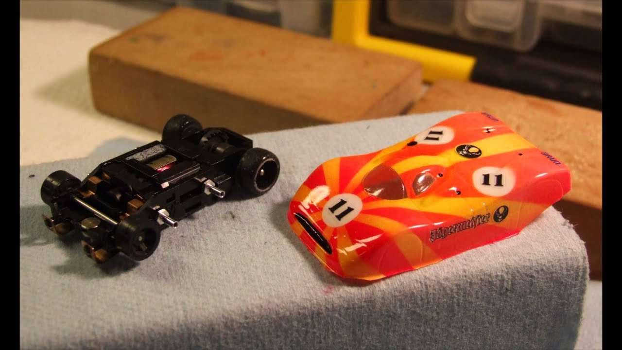Custom slot car bodies