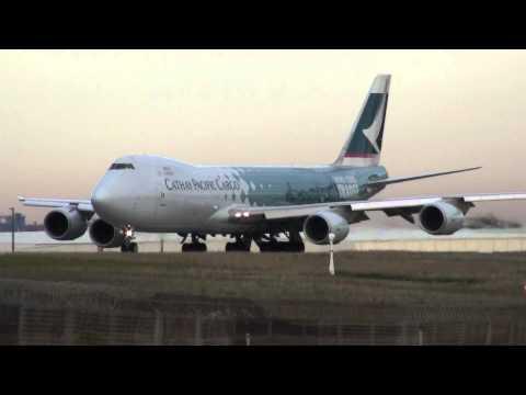 747-8 GEnx Power So Quite Amazing!