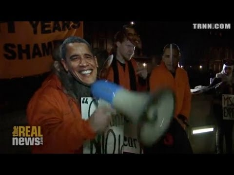 Protestors and Former Detainees Mark Guantanamo Anniversary in London