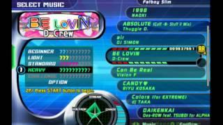 Dance Dance Revolution Extreme (Song List) Resimi