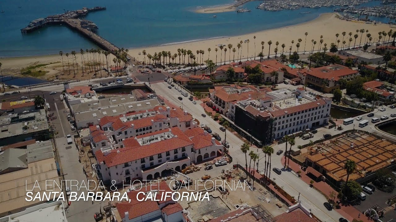 Hotel Californian La Entrada Progress State St Santa Barbara Ca 4k