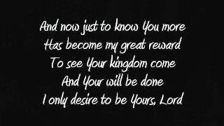 Lyrics Audience of One by Big Daddy Weave